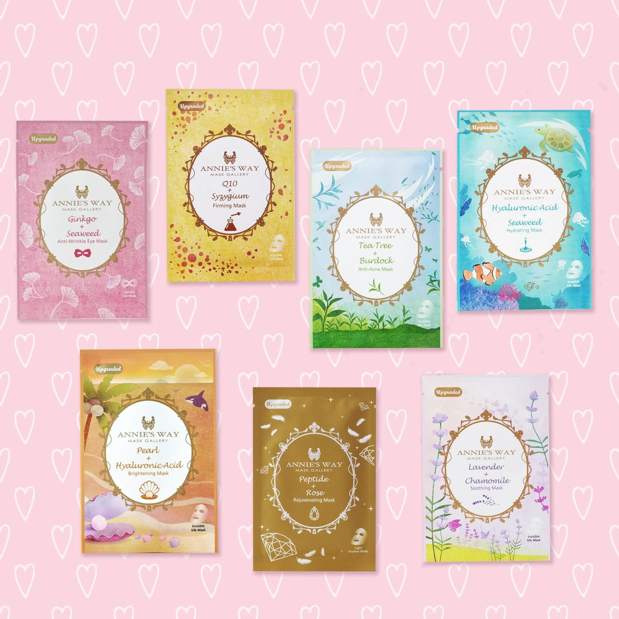 🦋 Annie's Way Fantasy Land Sheet Mask Sampler Set 🦋
