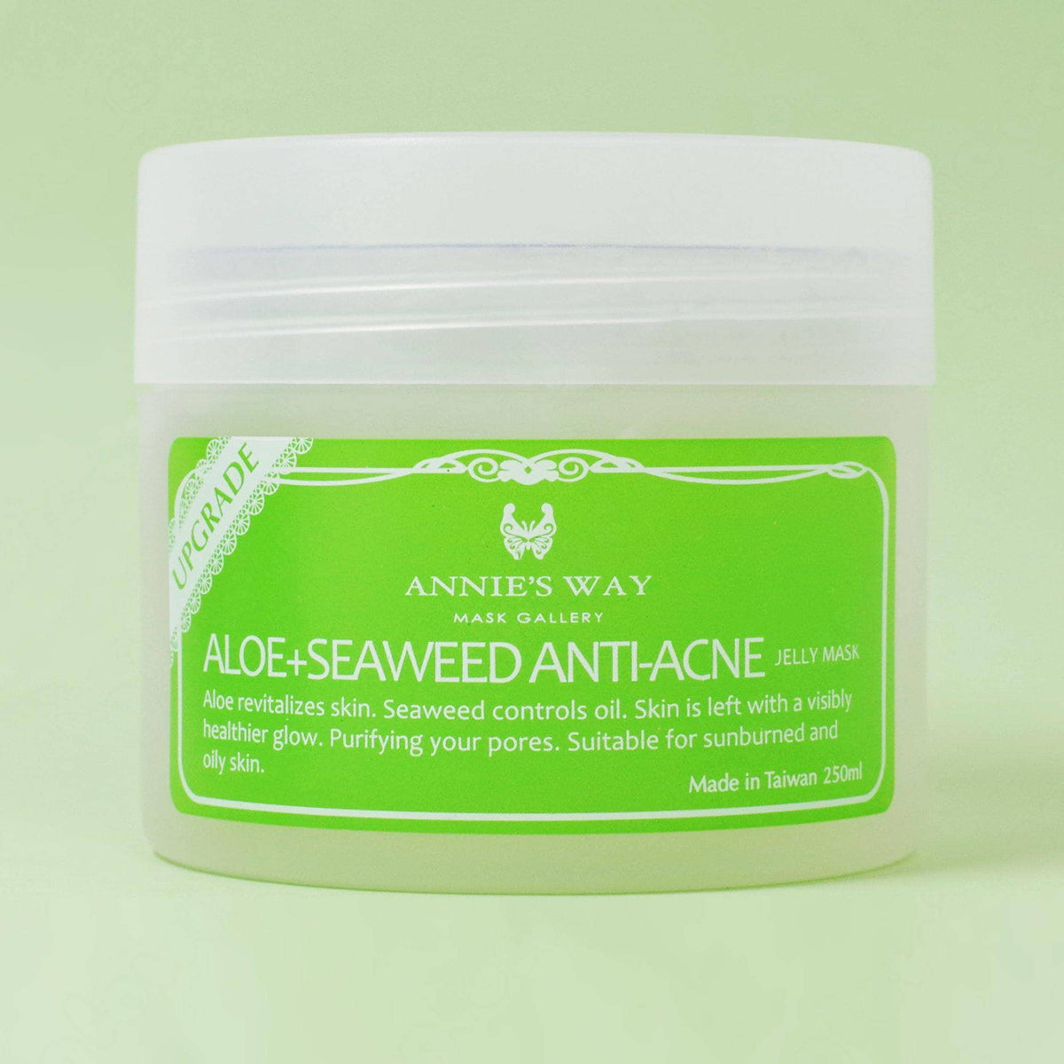 Annie's Way Aloe + Seaweed Anti-Acne Jelly Mask