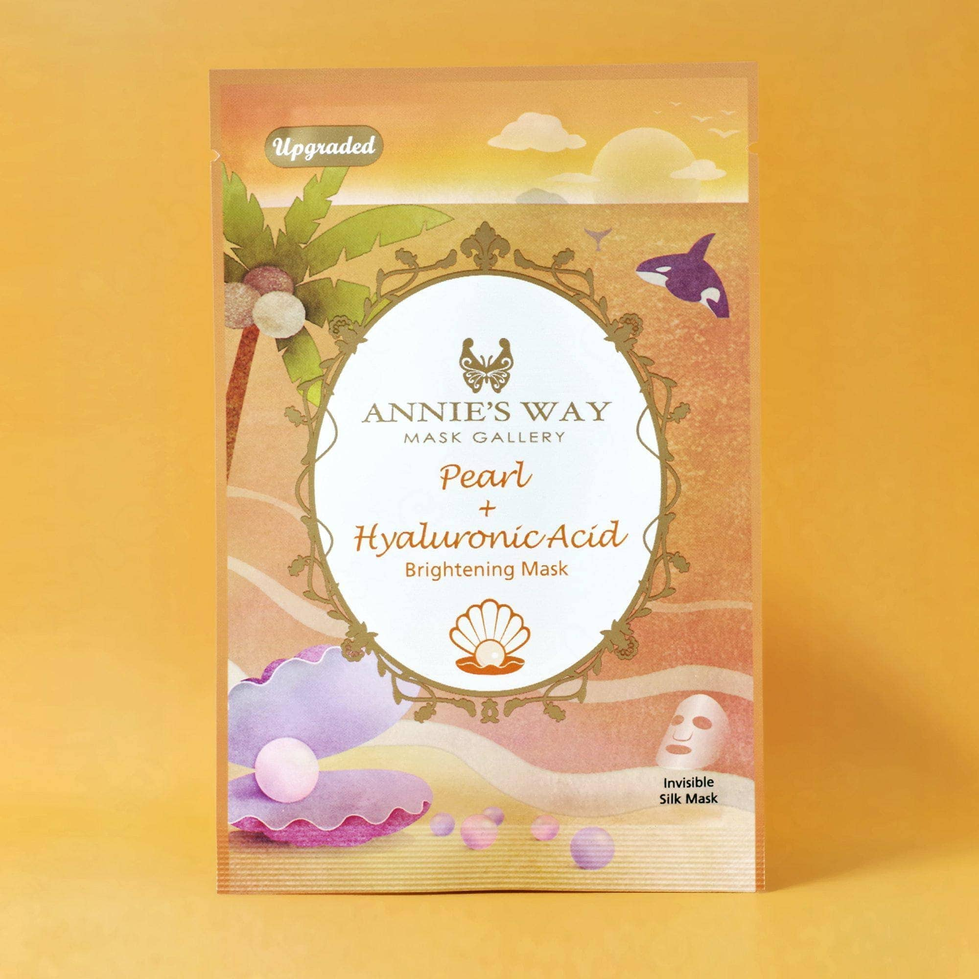 Annie's Way Pearl + Hyaluronic Acid Brightening Sheet Mask