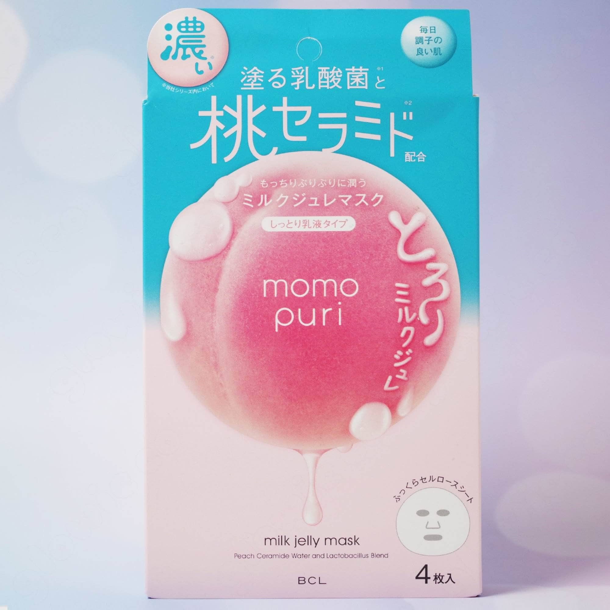 Momopuri Milk Jelly Mask