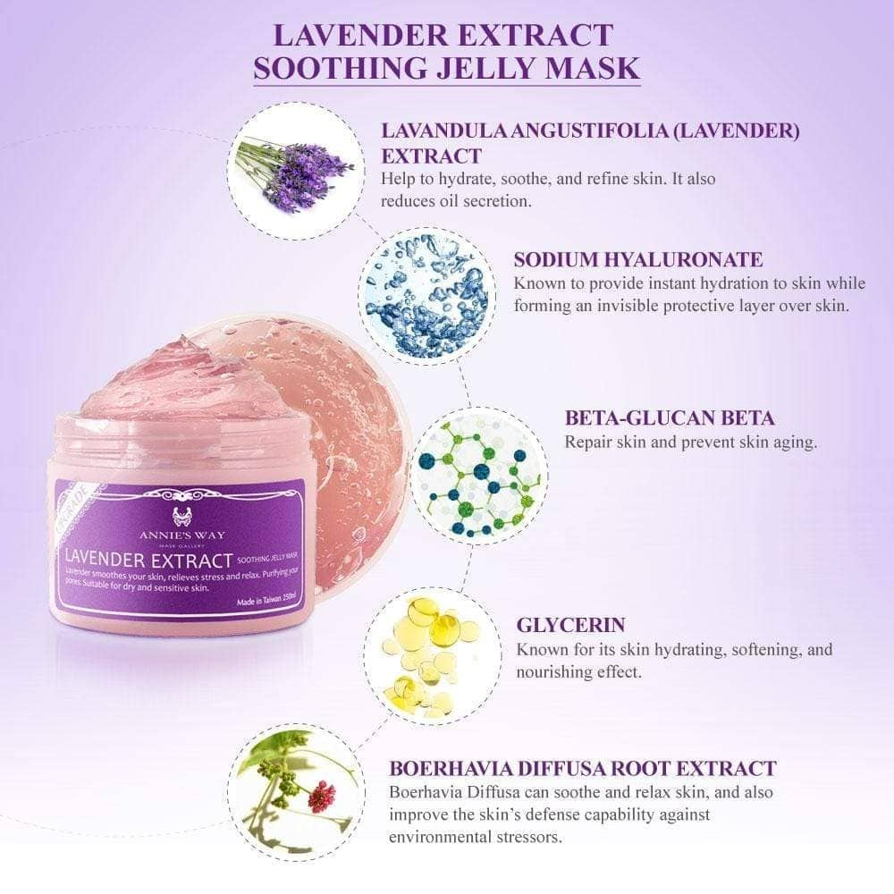 Annie's Way Lavender Soothing Jelly Mask