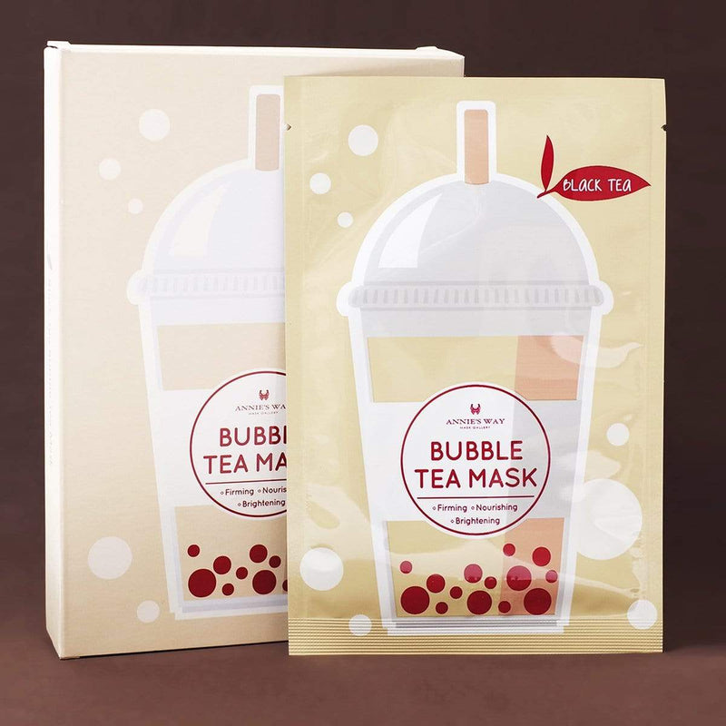 Annie's Way Black Tea Bubble Tea Sheet Mask