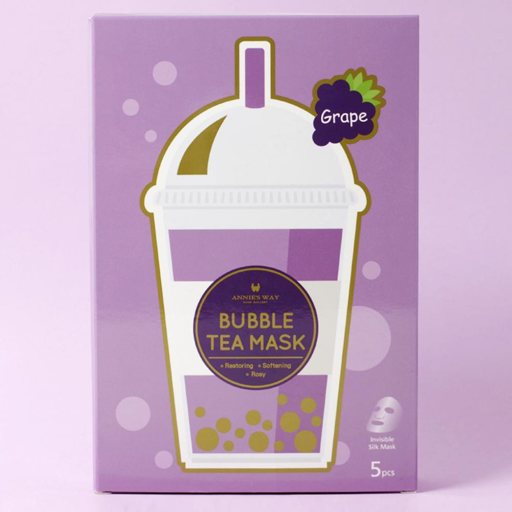 Annie's Way Grape Restoring Bubble Tea Sheet Mask