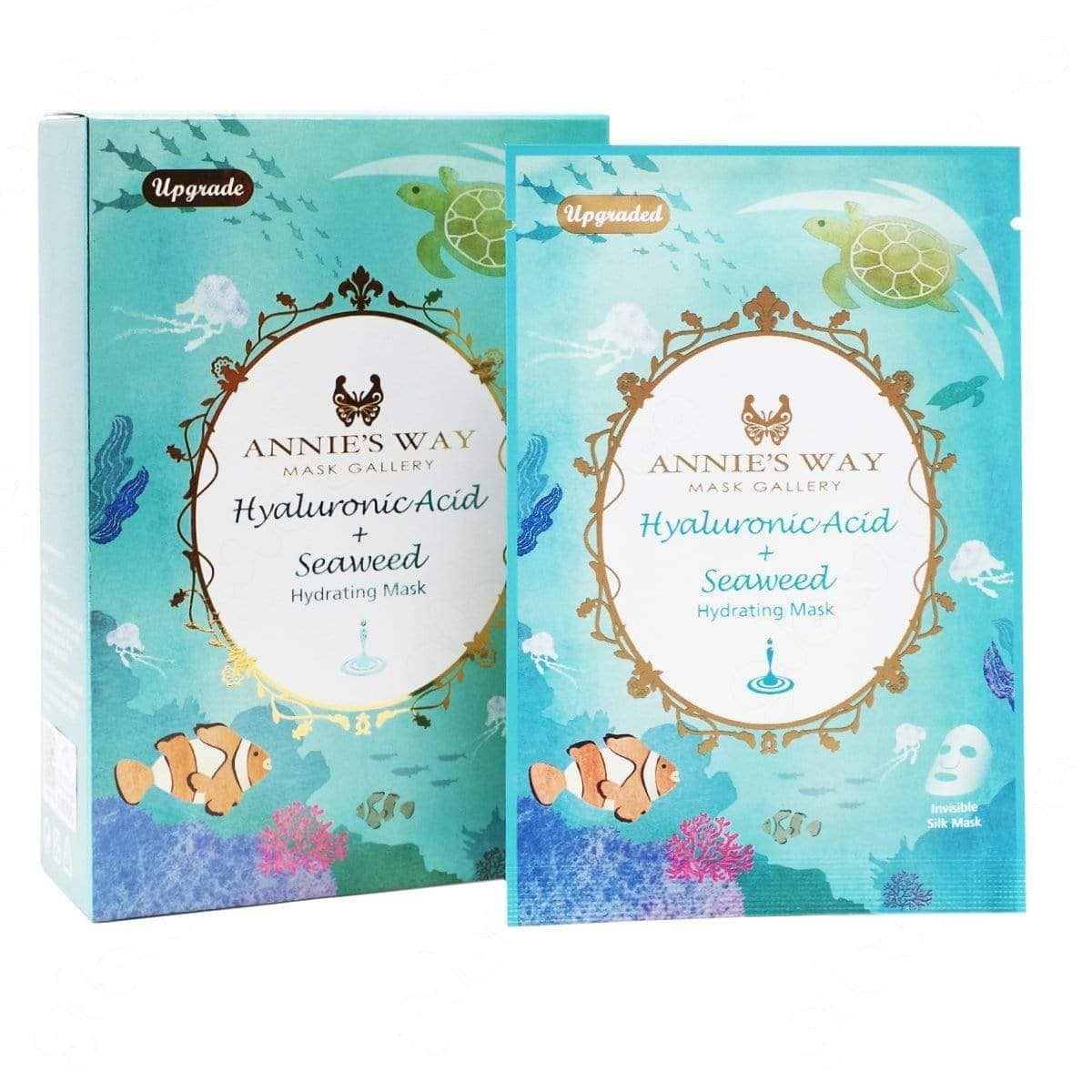 Annie's Way Hyaluronic Acid + Seaweed Hydrating Sheet Mask