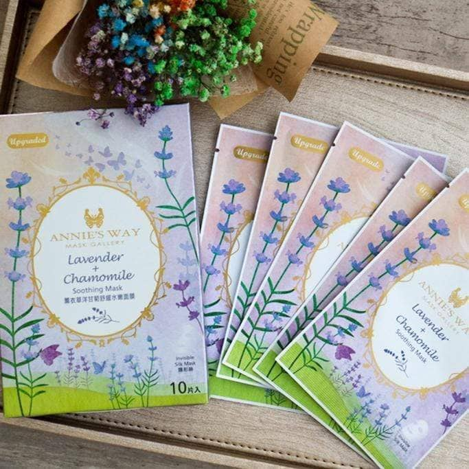 Annie's Way Lavender + Chamomile Soothing Sheet Mask