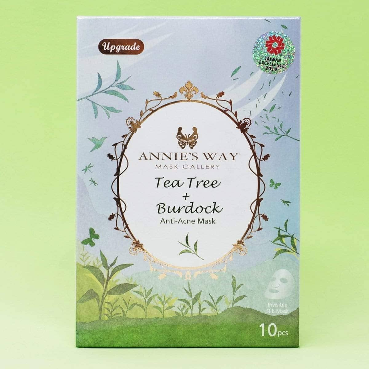 Annie's Way Tea Tree + Burdock Anti-Acne Sheet Mask