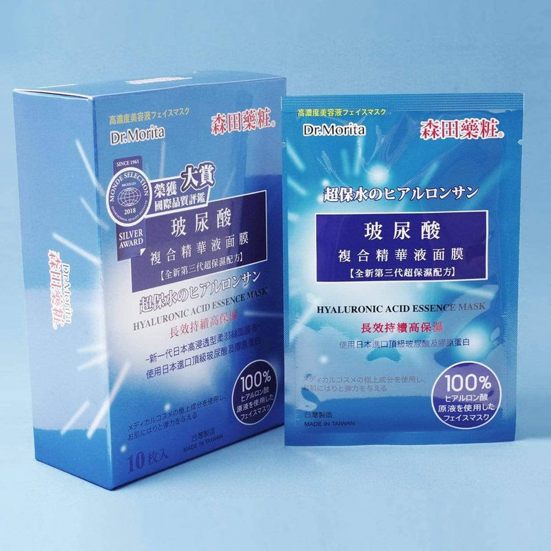 Dr. Morita Hyaluronic Acid Essence Sheet Mask