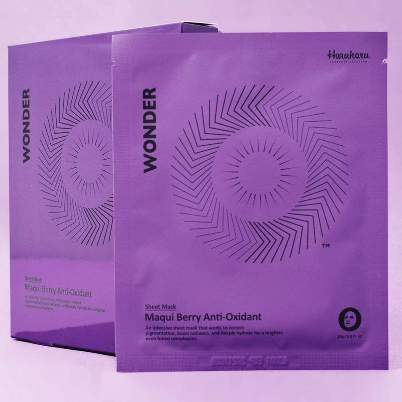 Haruharu WONDER Maqui Berry Anti-Oxidant Sheet Mask