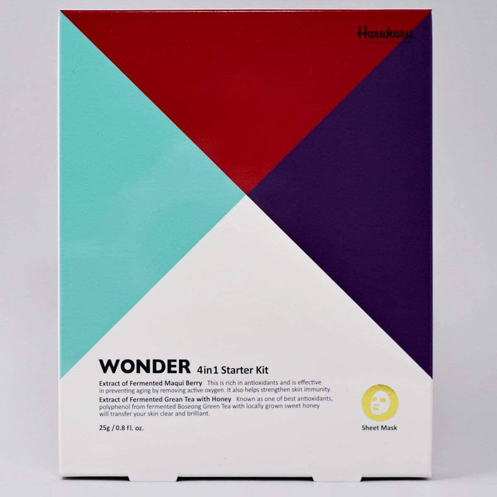 Haruharu WONDER Sheet Mask Starter Kit