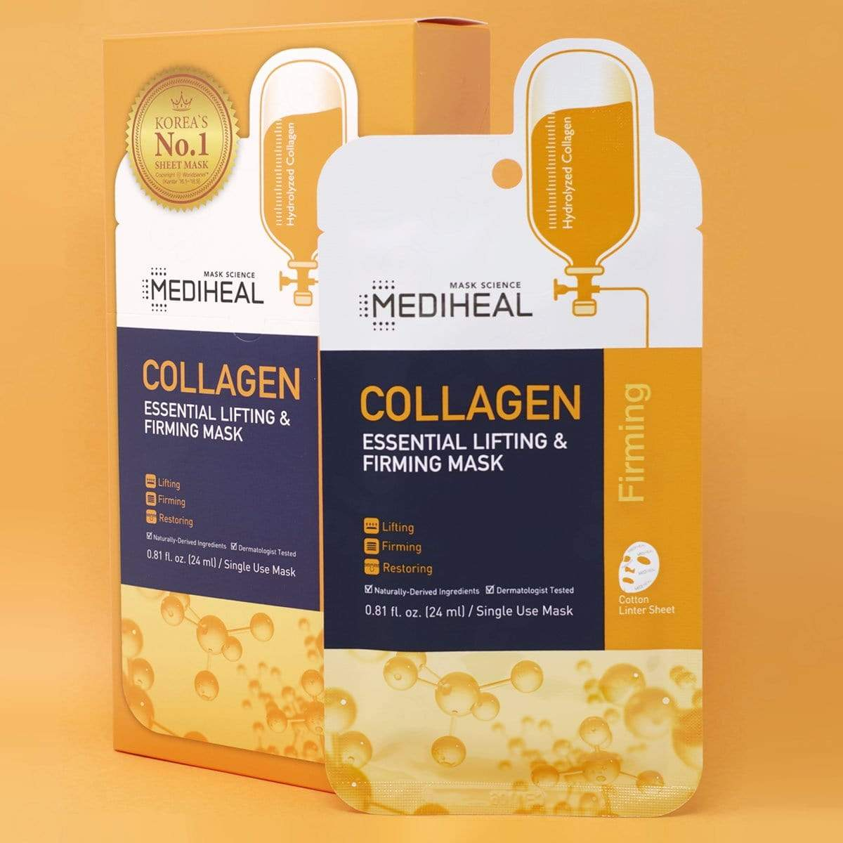 MEDIHEAL Collagen Essential Lifting & Firming Mask