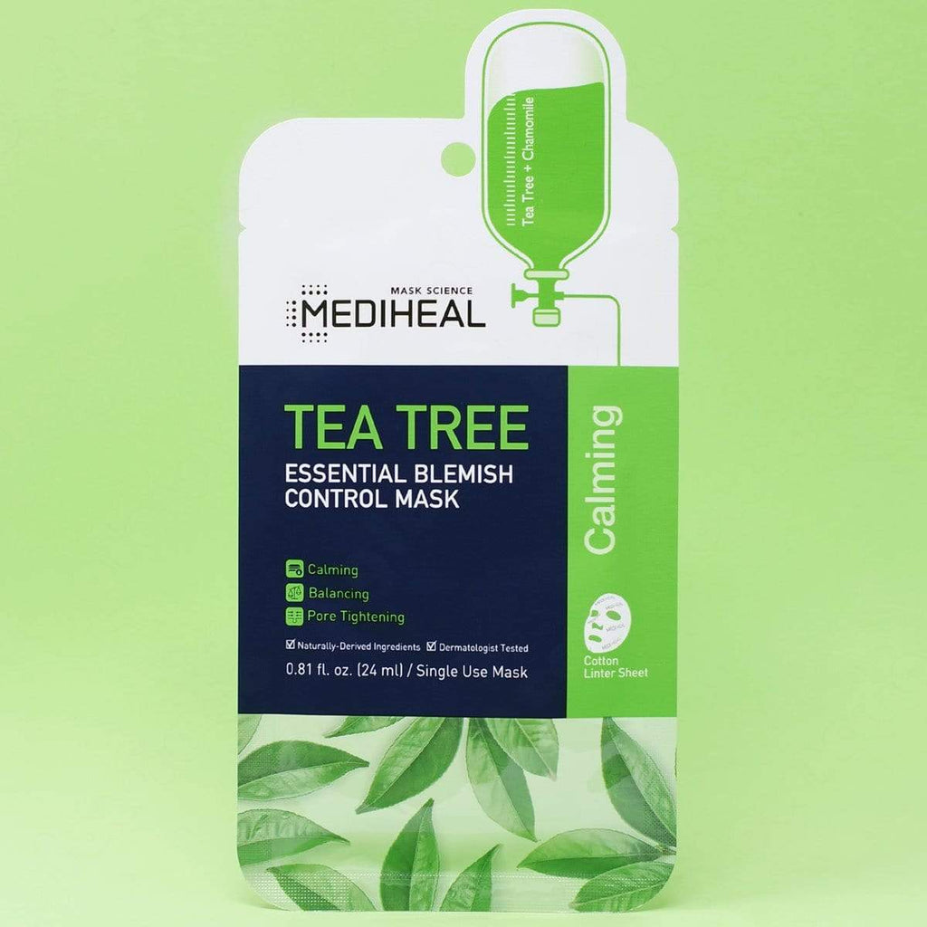 MEDIHEAL Tea Tree Essential Blemish Control Mask