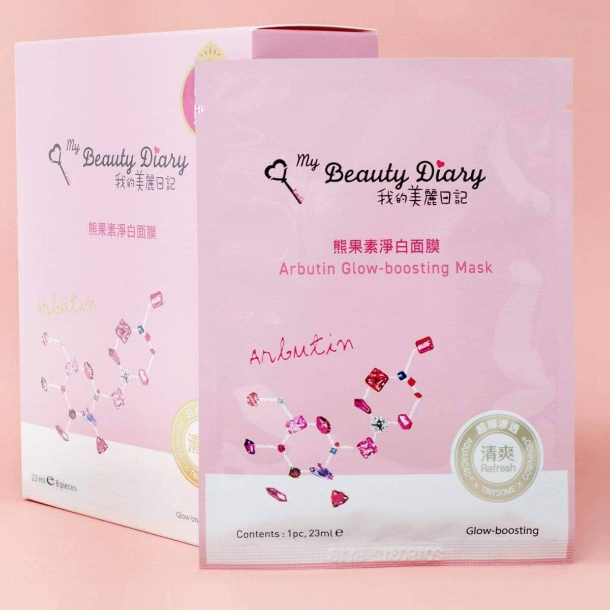 My Beauty Diary Arbutin Glow-boosting Sheet Mask
