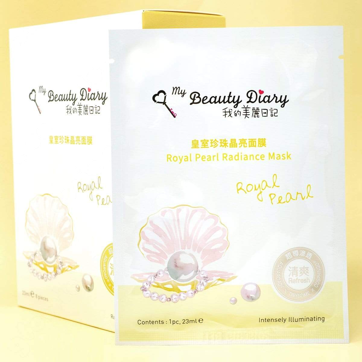 My Beauty Diary Royal Pearl Radiance Sheet Mask