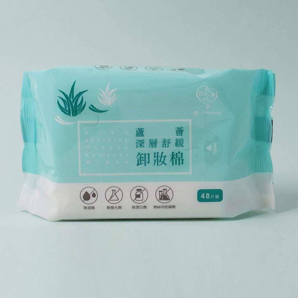My Scheming Aloe Soothing Makeup Remover Wipes