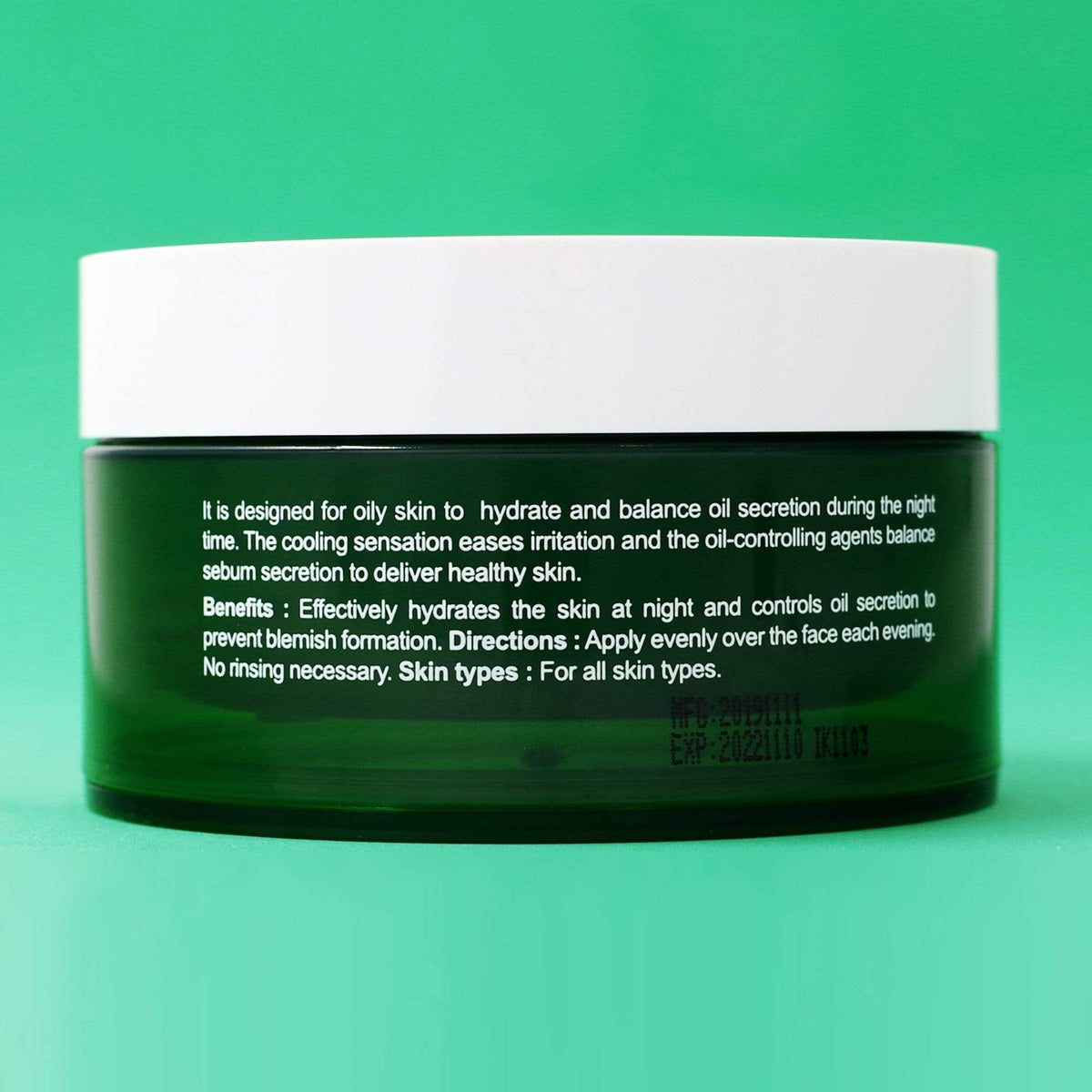 Naruko Tea Tree Shine Control & Blemish Clear Night Gelly