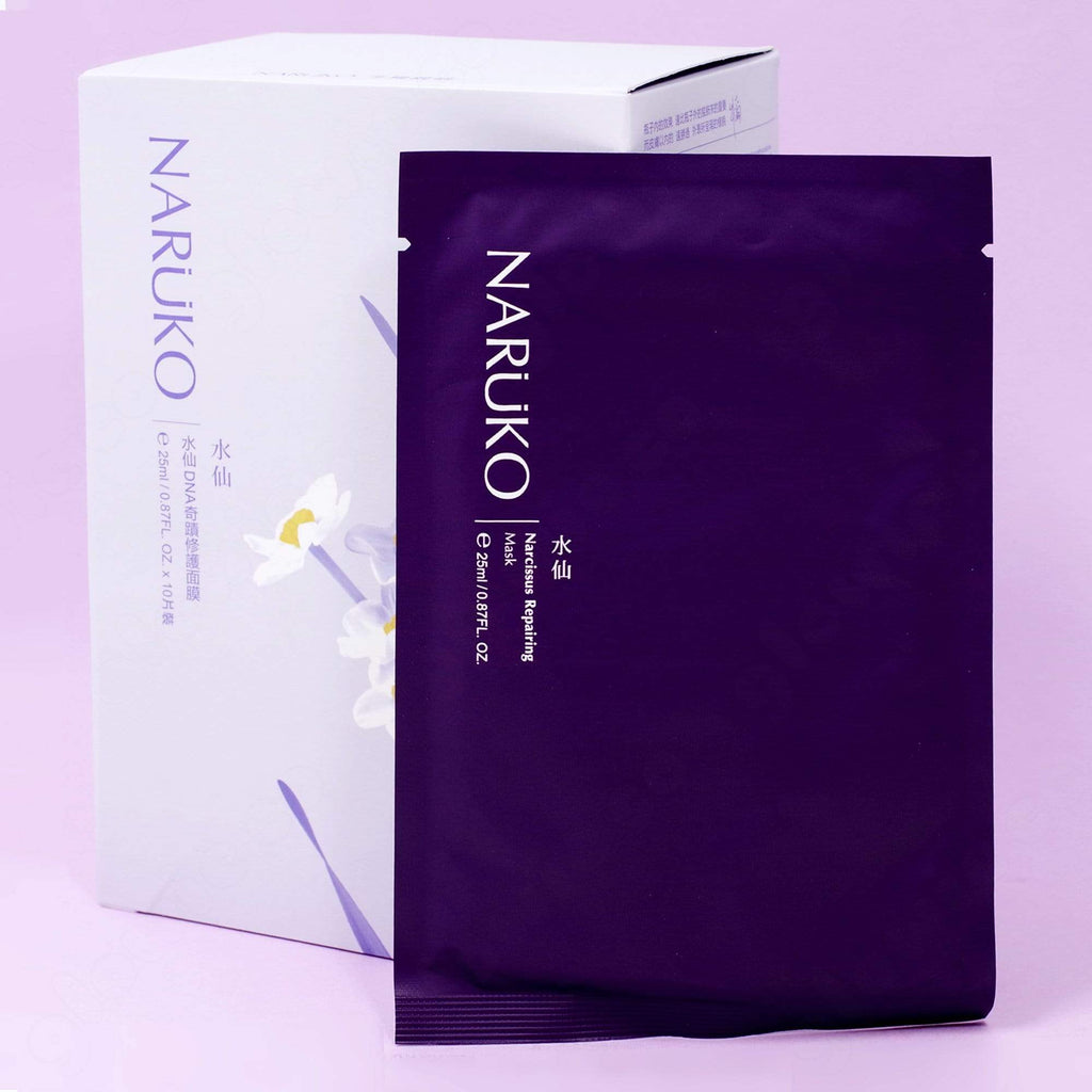 Naruko Narcissus Repairing Sheet Mask