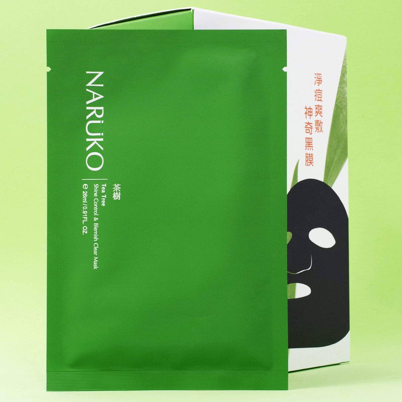 Naruko Tea Tree Shine Control & Blemish Clear Sheet Mask
