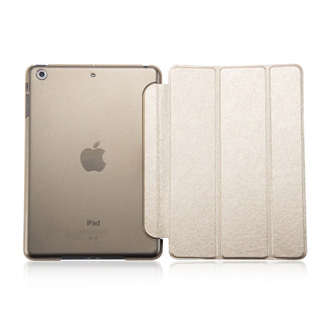 Ultra Slim Smart Flip Stand PU Leather Cover Case For Apple iPad