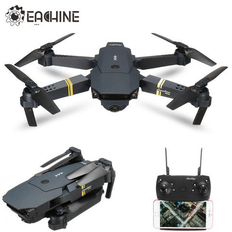 Eachine E58 WIFI FPV With Wide Angle 2 MP HD Camera High Hold Mode Foldable Arm RC Quadcopter RTF VS DJI Mavic Pro