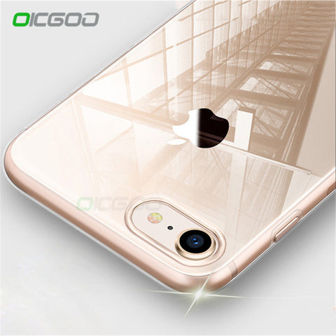 OICGOO Ultra Thin Soft Transparent TPU Case For iPhone