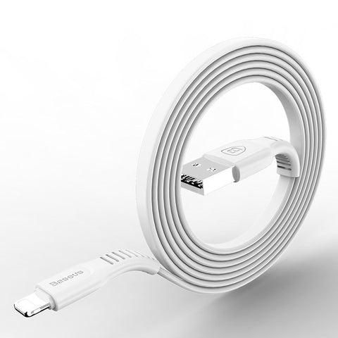 Baseus Flat USB Cable For iPhone X 8 7 6 6s 5 5s iPad Fast Data ...
