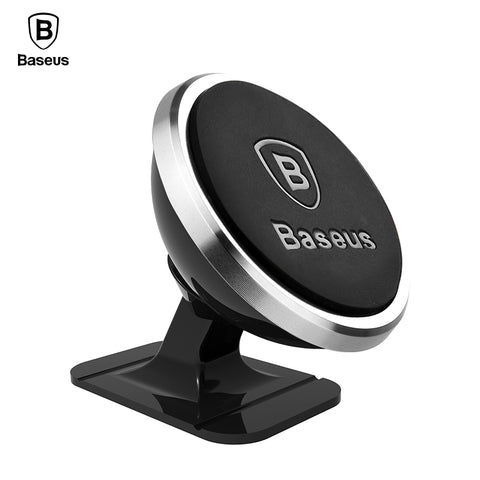 Baseus Magnetic Car Phone Holder For iPhone X Samsung S9 Magnet Mount Car Holder For Phone in Car Cell Mobile Phone Holder Stand
