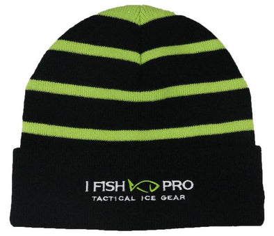 iFish Pro Striped Beanie with Solid Band