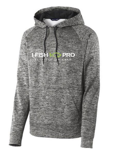 iFish Pro Electric Heather Fleece Hooded Pullover