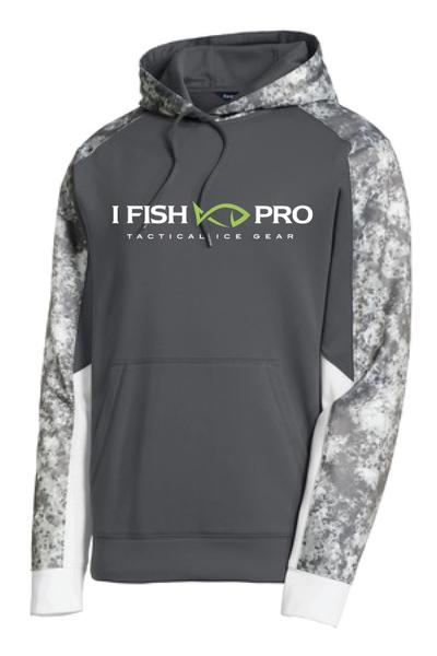 iFish Pro Mineral Freeze Fleece Colorblock Hoodie