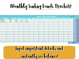 Simple Budgeting Template | Digital Budgeting