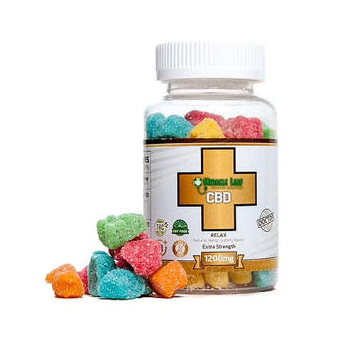 CBD Gummy Bears - 1200mg