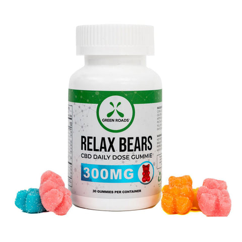 Relax Bears - CBD Gummies - 300mg - 30 count