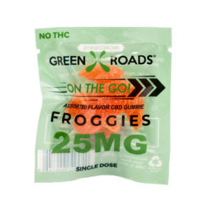 CBD Froggies - Cannabidiol Candies - 25mg - 1pc