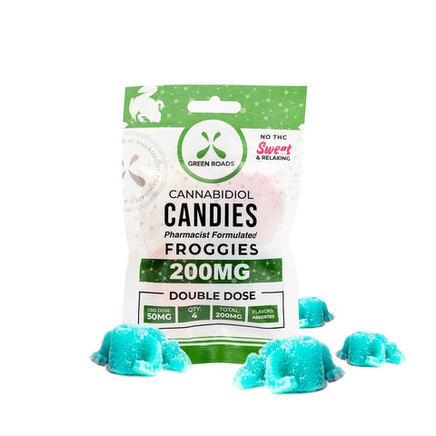 CBD Froggies - Double Dose - 200mg - 4pk