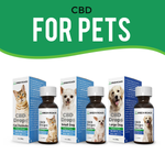 CBD Drops for Small Dogs - 60 mg - 30ml