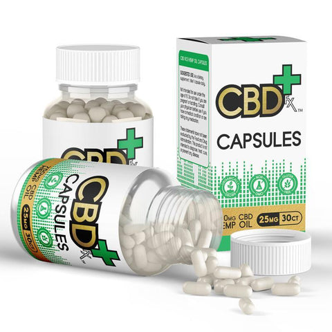 CBD Capsules - 750mg - 30ct