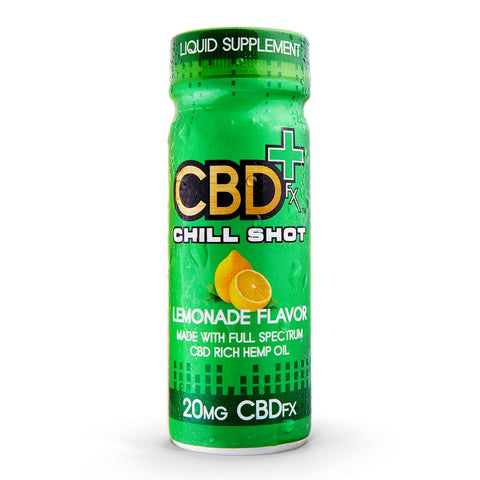 CBD Lemonade Chill Shot – 20mg - 2oz Bottle