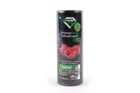 Raspberry Hemp Infused Liquid - Oral Drops or Vape - 15ml