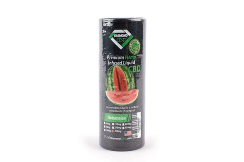 Watermelon Hemp Infused Liquid - Oral Drops or Vape - 15ml