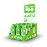 ECOShot Energy + Hemp Shot – 25mg - 2oz