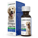 CBD Drops for Large Dogs - 600 mg - 30ml