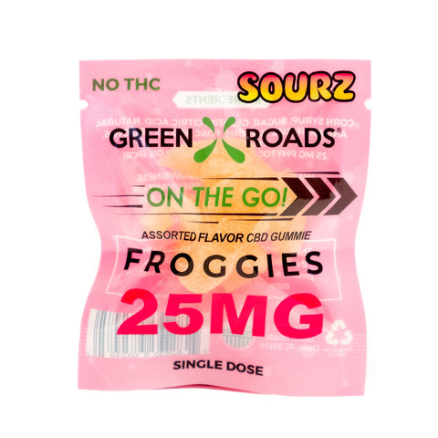 SOURZ CBD Froggies - Cannabidiol Edibles - 25mg - 1pc