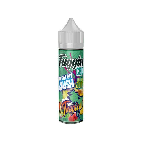 Tropical - Oh My Gush - CBD Vape juice - 100mg - 60ml