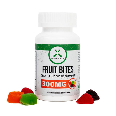 Fruit Bites CBD Gummies - 300mg - 30 count