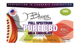 CBD Milk Chocolate Bar - 250mg - 1.5oz