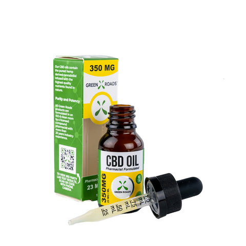 CBD Oil Tincture - 350mg - 15ml