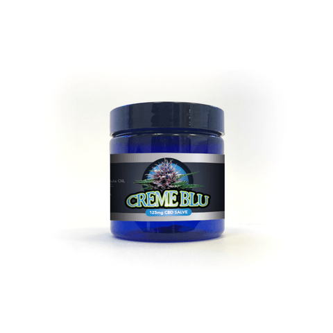 Natural Creme Blu CBD Salve 125mg - 1oz