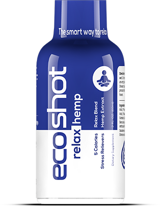 ECOShot Relax + Hemp Shot – 25mg - 2oz