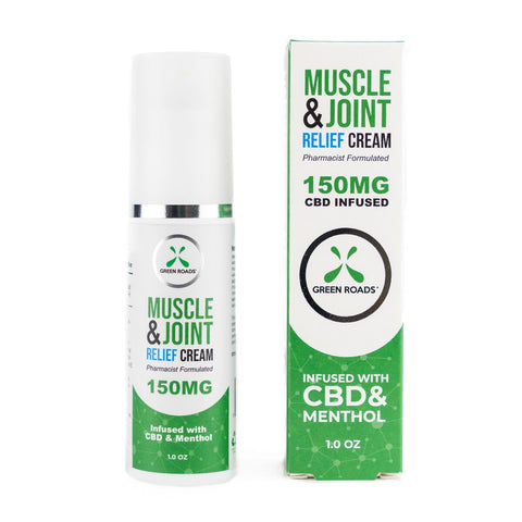 Muscle & Joint Relief CBD Pain Cream  - 150mg - 1 fl oz