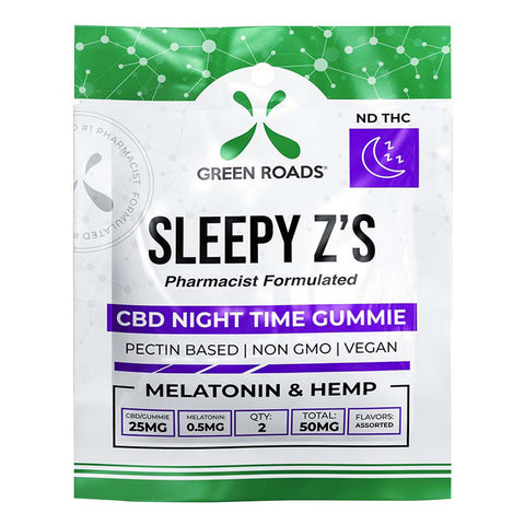 Sleep Z's CBD Night Time Gummies - 50mg - 2pk